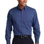 Tall Tattersall Easy Care Shirt